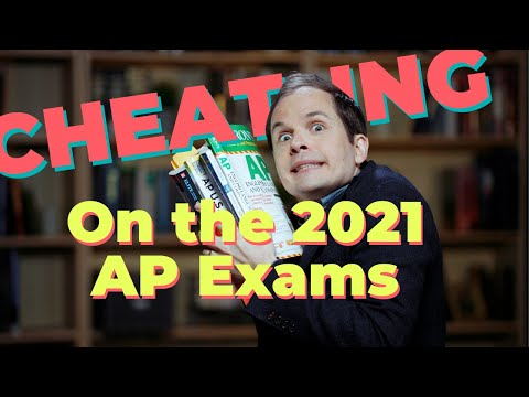Cheating on the 2021 AP Exams