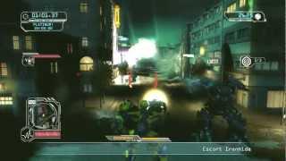 Transformers: Revenge of The Fallen Walkthrough: Autobot - Shanghai Spiral Highway - Autobot Down