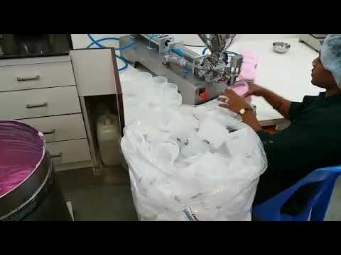 Single Head Paste Filling Machine