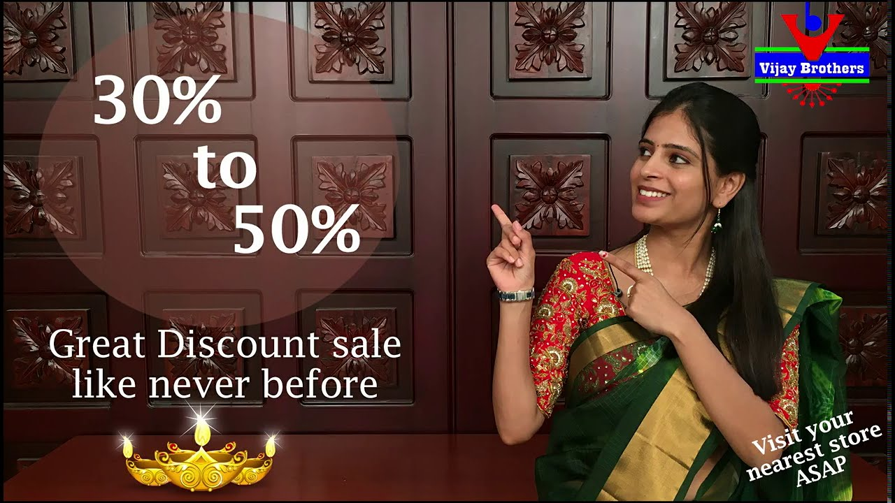 """<p style=""""color: red"""">Video : </p>Huge Dussehra sale like never before 