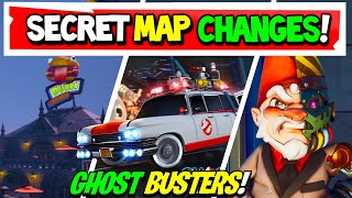 Fortnite | All Season 4 SECRET MAP CHANGES | GHOST BUSTERS CAR FOUND! v14.40 (Xbox, PS5, PC)