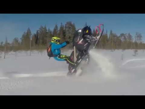 Lynx XTRIM RE 2018 | Лыжи в гору! Скандинавский стайл!