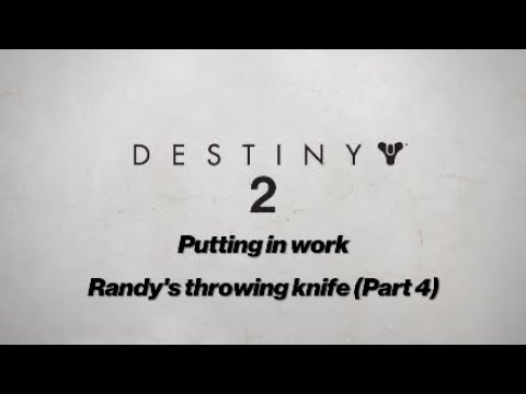 Putting in work  Randy's throwing knife (Part 4)
