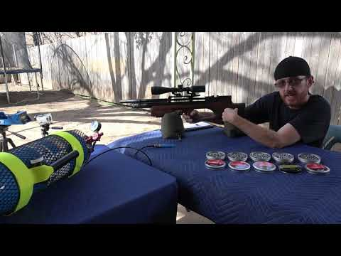KRAL ARMS PUNCHER BREAKER 22 CHRONY TEST AND TIPS - смотреть онлайн