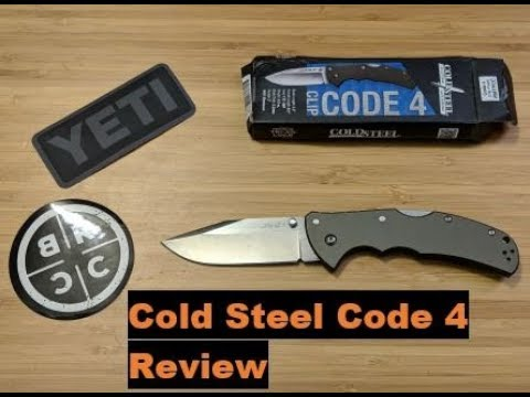 Cold Steel Code 4 Review