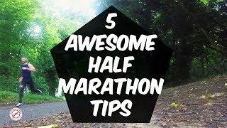 5 Half marathon tips for beginner runners on race day - half marathon training tips