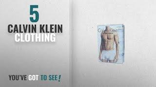 Top 10 Calvin Klein Clothing [2018]: Calvin Klein Underwear Mens Pack Of 3 Trunk Shorts