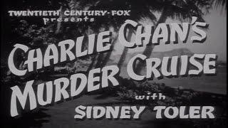 19   Charlie Chans Murder Cruise 1940 Excellent