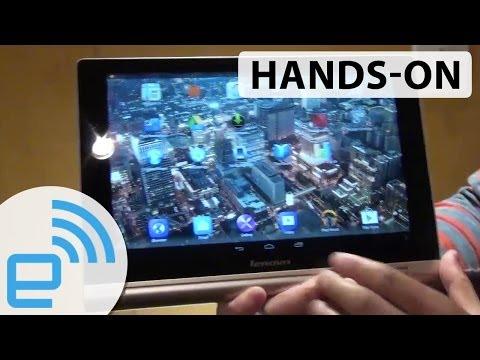 Lenovo Yoga Tablet 10 HD+ hands-on | Engadget