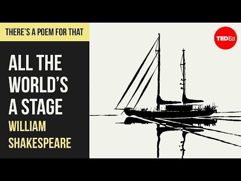 Celý svět je jeviště – William Shakespeare