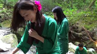 美女3人と行く鹿児島の混浴露天風呂!龍馬ゆかりの湯「緑渓湯苑」3