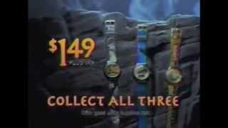 Congo Taco Bell Watch Promotion commercial (1995)
