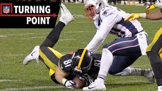 Controversial Catch Reversal Looms Large in Patriots vs. Steelers (Week 15) | NFL Turning Point