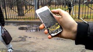 Iphone 5s вышел живым из огня!