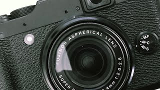 FUJI X10 Camera Review - the best small camera with a great lens