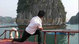preview picture of video 'HaLong Bay / Vietnam - Adventure Yoga Retreat-'