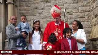 Vanessa - 1st Holy Communion And Confirmation Ceremony