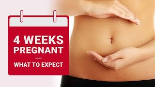 4 Weeks Pregnant - What to Expect