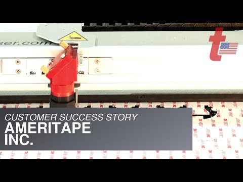 Ameritape uses a Trotec to create strong Customer Relationships