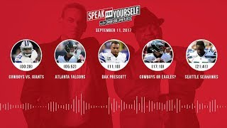 SPEAK FOR YOURSELF Audio Podcast (9.11.17) with Colin Cowherd, Jason Whitlock | SPEAK FOR YOURSELF