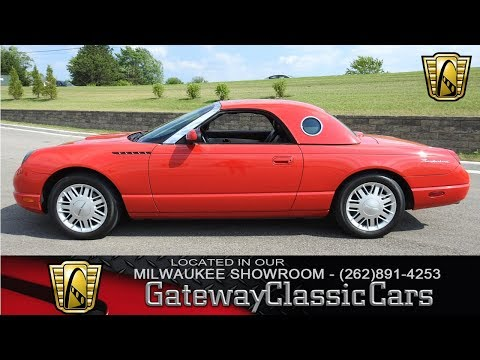 Video of '02 Thunderbird located in Kenosha Wisconsin - $19,995.00 Offered by Gateway Classic Cars - Milwaukee - LBSH