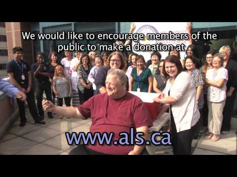 Don Bevers of @TorontoPolice Records Management takes the #IceBucketChallenge