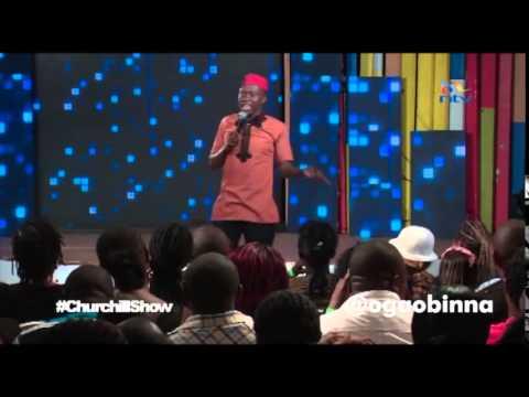 Obinna (Oga@DTop ) -Third time on Churchill Show