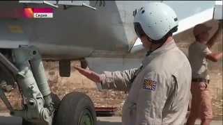 Инструктаж «Вежливых пилотов» на Российской авиабазе в Сирии