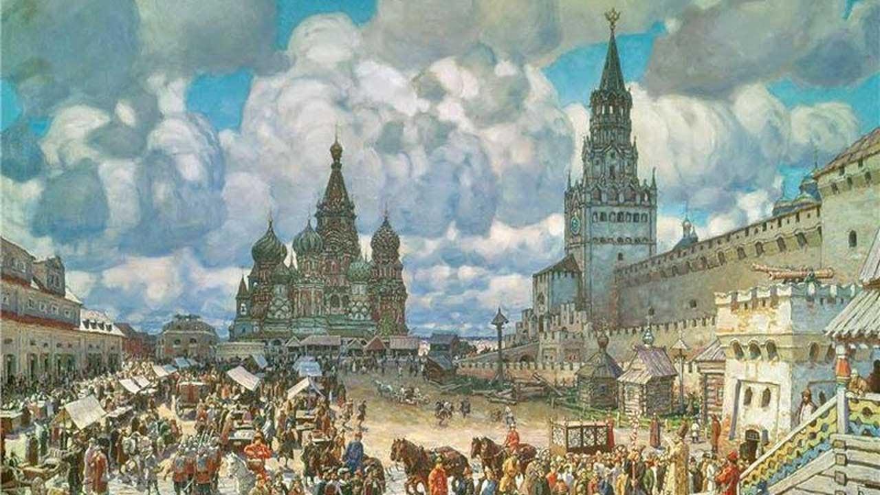 Historia de Moscú. Qué es Kremlin? Dónde está la Plaza Roja?
