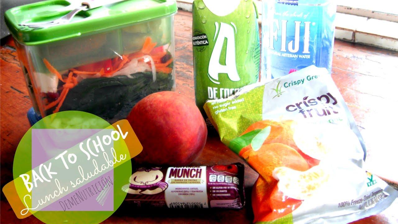 BTS - 3 lunchs saludables y deliciosos