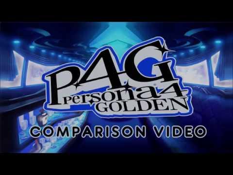 Persona 4  - PS2 vs. PSVita Comparison
