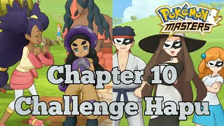 Pokemon Masters Chapter 10 Challenge Hapu