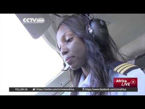Zambia's youngest pilot in the world