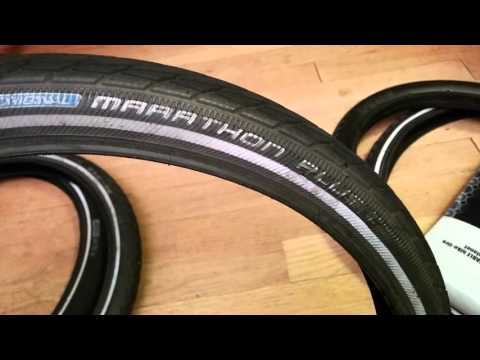 Schwalbe Tires vs Tannus Tires – What is best for your Bromptons?