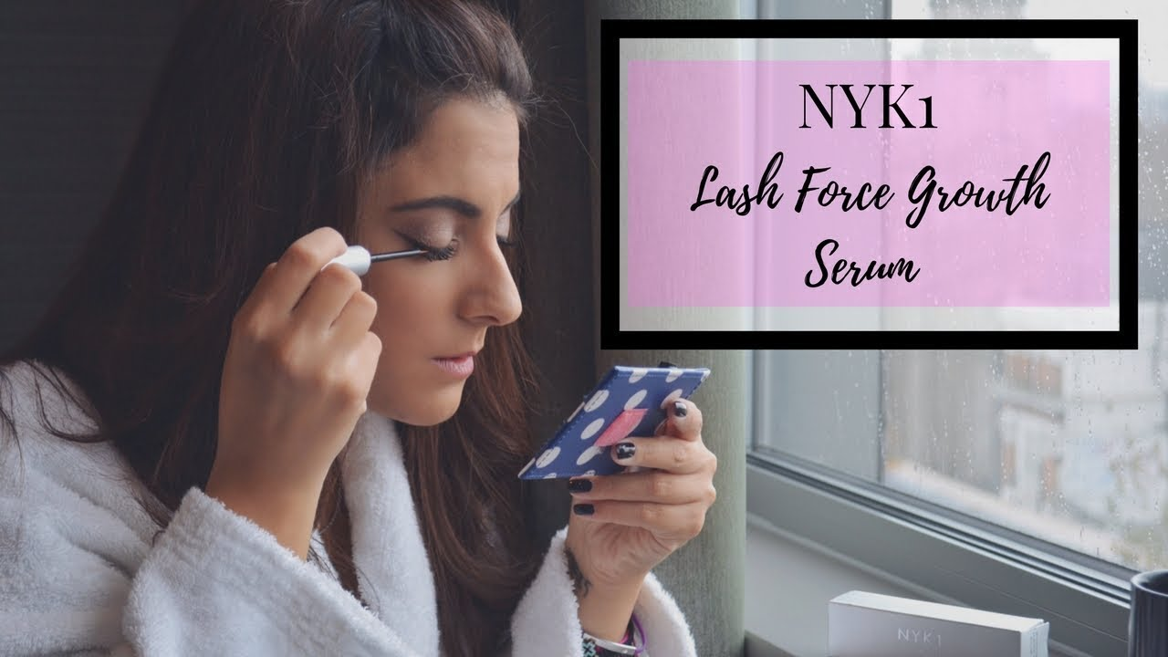 NYK1 Lash Force Growth Serum - How To Apply & How To Use The Serum (Beauty Guide)