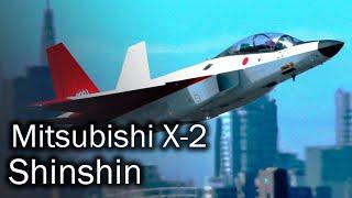 Mitsubishi X-2 Shinshin - японский истребитель 5 поколения