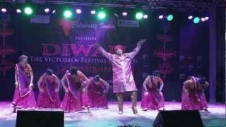 2012 Diwali Bollywood Show Federation Square