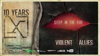 "10 Years - ""Sleep In The Fire"" (Official Audio) (Violent Allies)"