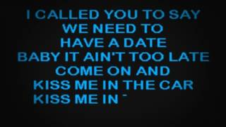 SC2146 03   Berry, John   Kiss Me In The Car [karaoke]