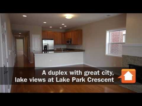 A duplex with great city, lake views at Lake Park Crescent