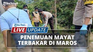Kronologi Penemuan Mayat Identitas yang Terbakar di Mallawa, Awalnya Dikira Sampah
