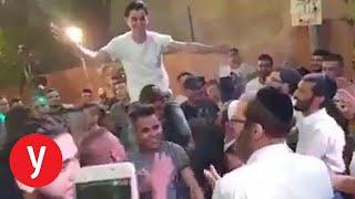 Video: Palestinský představitel vyhozen z práce kvůli židovským hostům na synově svatbě