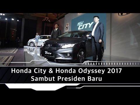 Honda City dan Honda Odyssey Sambut Presiden Baru
