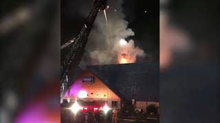 Fire rips through IHOP restaurant in North Jersey