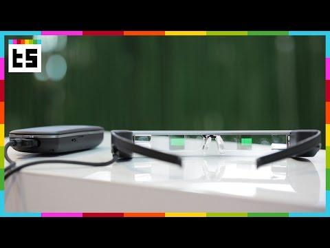 Epson Moverio BT-300: AR-Brille mit Steuerung – Hands-on
