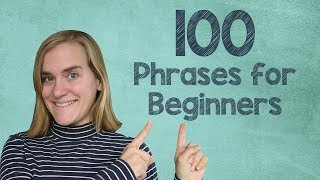 German Lesson (183) - 100+ Essential German Phrases for Advanced Beginners - A2