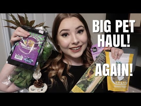 ANOTHER BIG PET SUPPLY HAUL! Yes, Again...