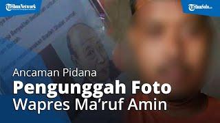Ini Hukuman Pengunggah Foto Ma'ruf Amin & 'Kakek Sugiono', Pelaku Tersinggung Kata Wapres soal K-Pop