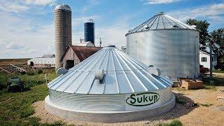 New Sukup 20,000 Bushel Grain Bin