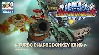 Skylanders SuperChargers - Donkey Kong In My Skylanders (Wii U Gameplay, Playthrough) - Part 1